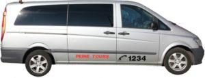 Vip Taxibus Seitenansicht