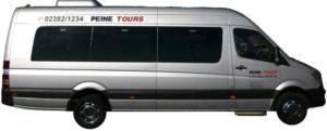 Mercedes Bus mit Klimaanlage